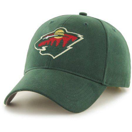 164887b6 ... official nhl minnesota wild basic cap hat fan favorite green 5ae71 03857