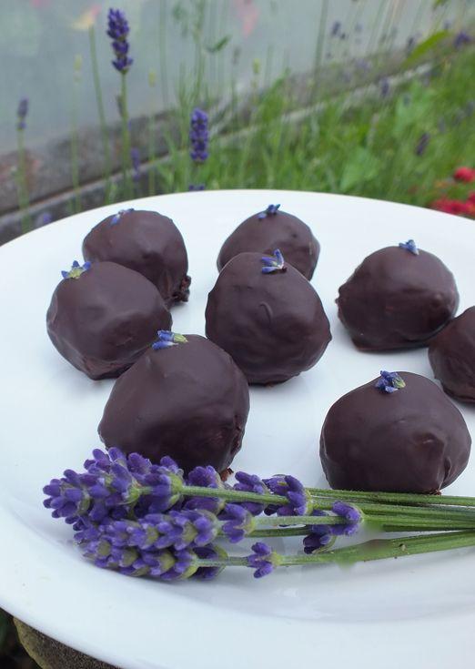 Lavender Chocolate Truffles  DELICE **+