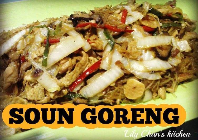 Resep Soun Goreng Ala Lc Oleh Lily Chan S Kitchen Resep Makanan Resep Masakan Indonesia Dadar Telur
