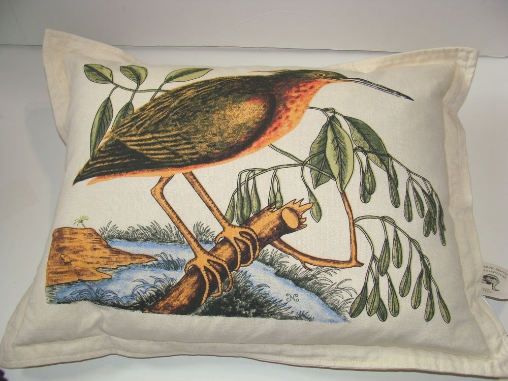 NEWPORT Luxury Luxe Bird Designer Throw Pillow MultiColor Feather Stunning Newport Feather Decorative Pillow