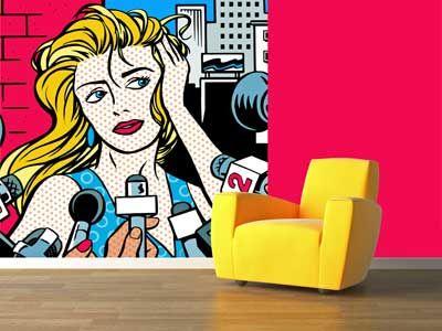 pop art wall - Google zoeken | Deco popArt | Pinterest | Art walls ...
