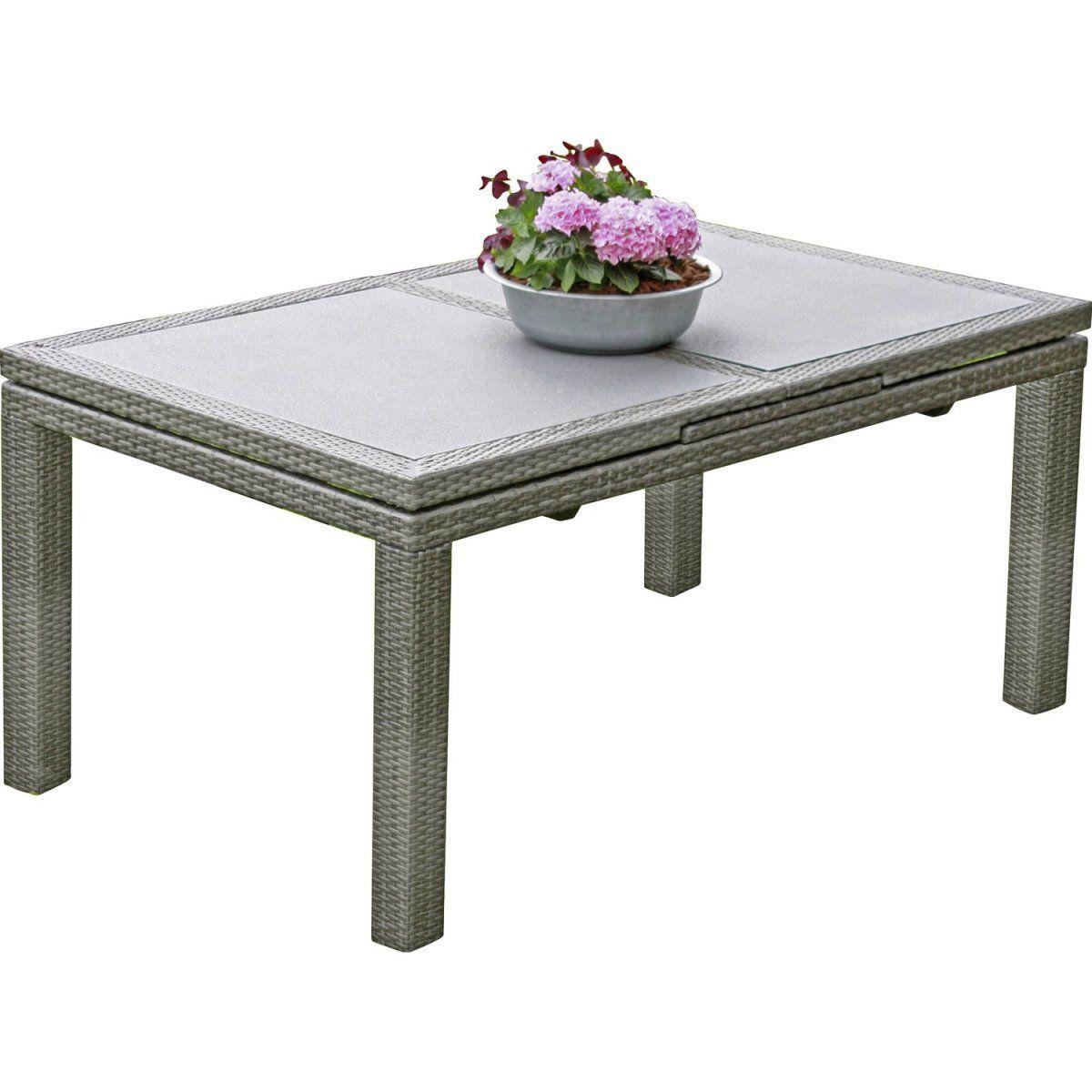 Garden Pleasure Tisch Santander ausziehbar Grau Jetzt bestellen ...