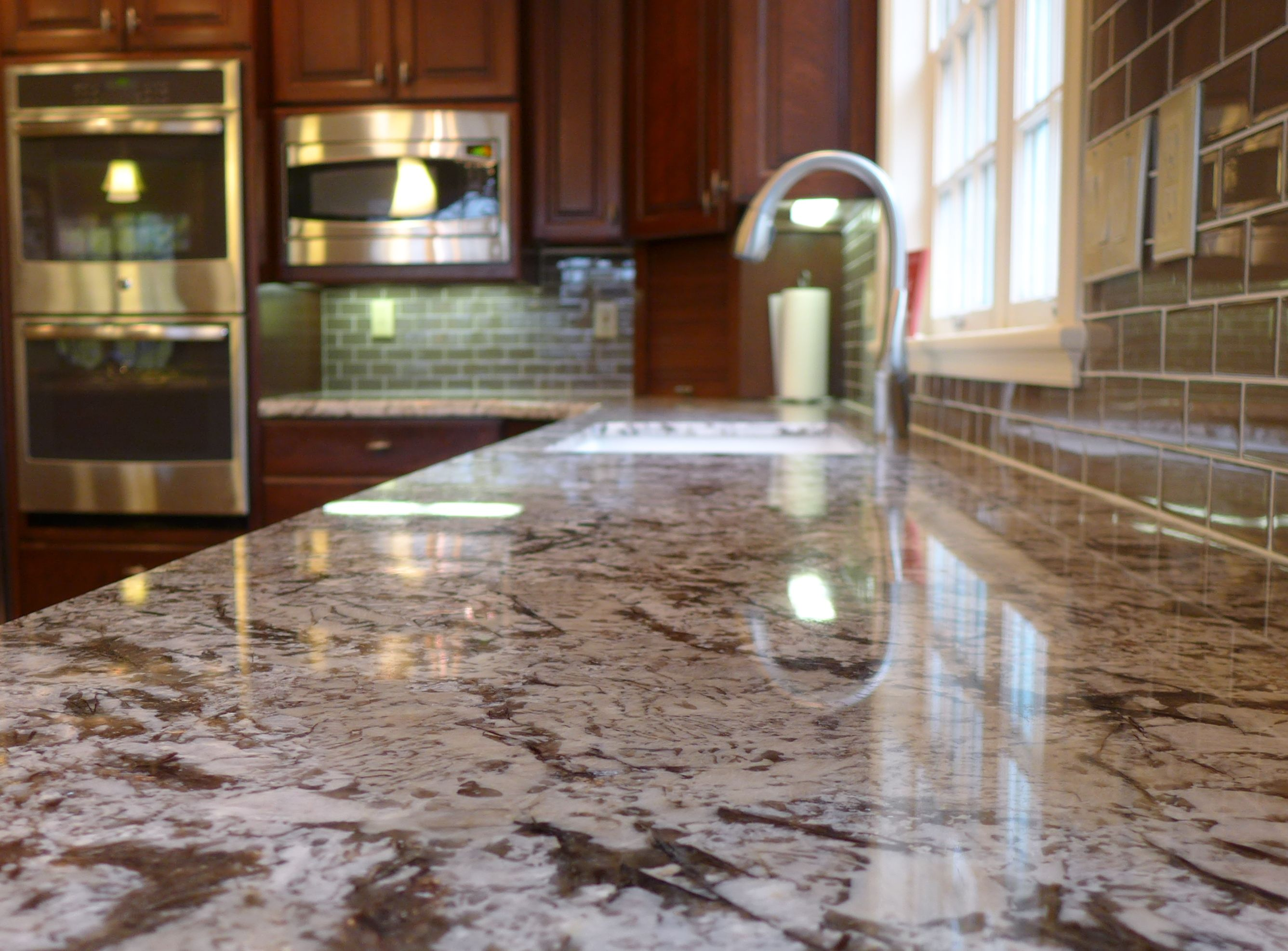 Bianco Antico Granite Countertops Fabricated And Installed By Accent  Interiors In SLC, UT.