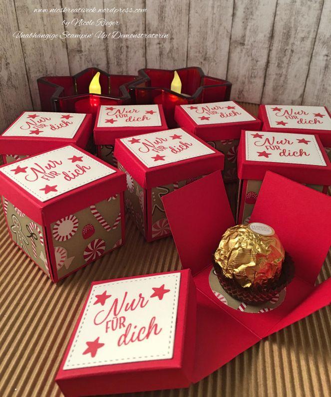Weihnachtsgeschenke Lebensmittel.Goddies Für Die Weihnachtliche Kaffetafel Verpackung Von Für