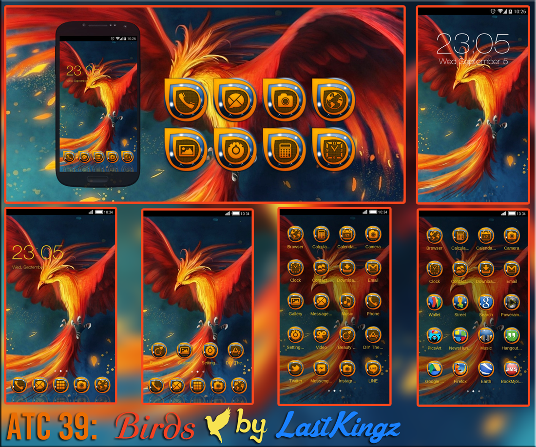 Google themes mobile9 - Phoenix Download Clauncher Themes For Android Fire Bird Phoenix Flames Mobile9