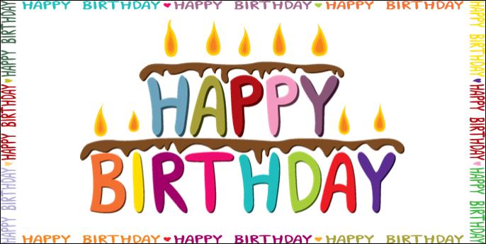 happy birthday flyer printable physic minimalistics co