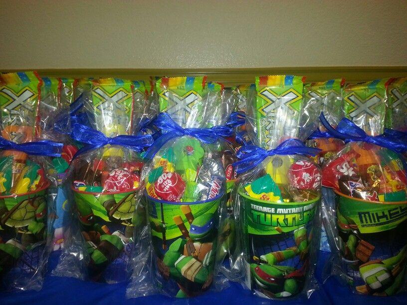 Pin By Claudia Cortez On Candy Bags Ninja Turtles Birthday Party Ninja Turtle Birthday Tmnt Birthday Party Ideas
