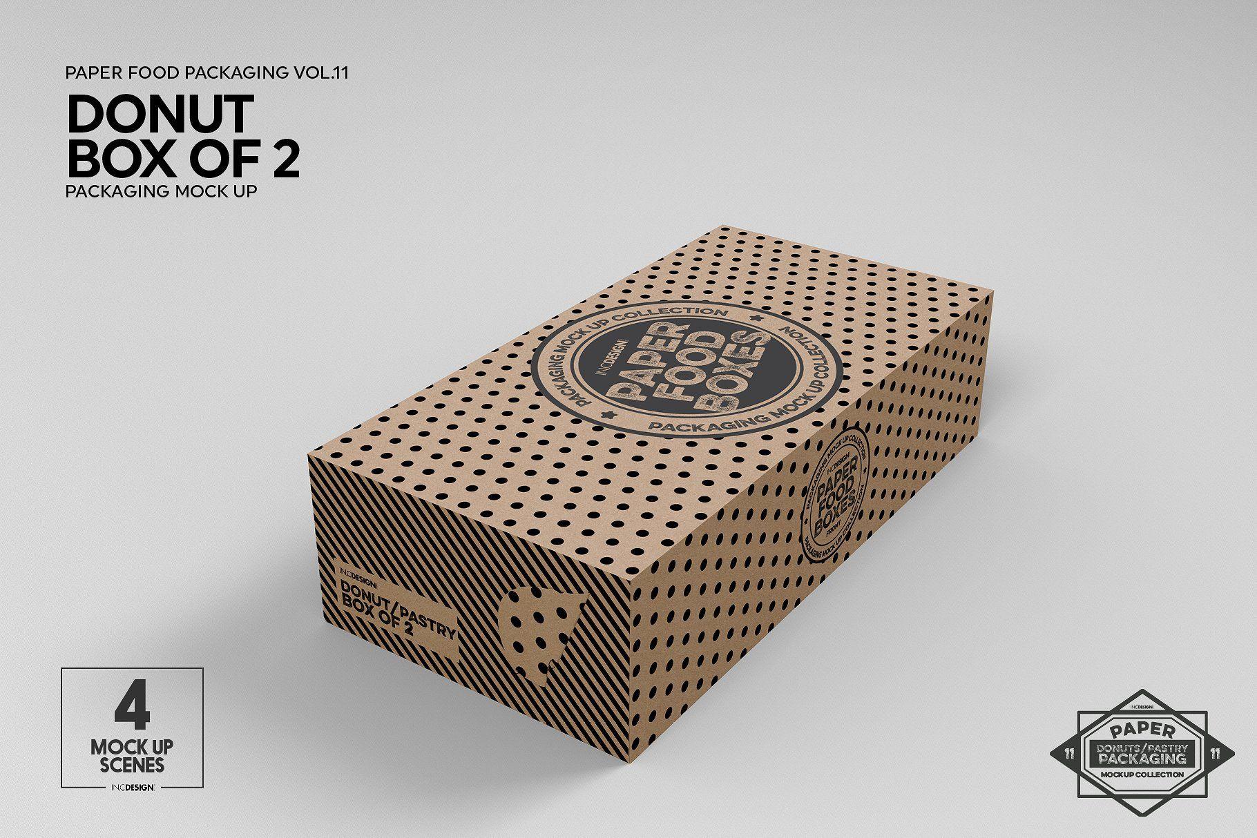 Download Vol 11 Food Box Packaging Mockups Food Box Packaging Packaging Mockup Box Packaging