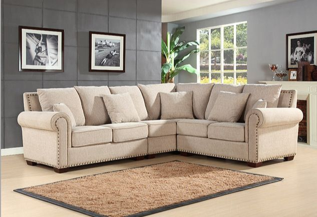 Tan Sectional Couch Fabric