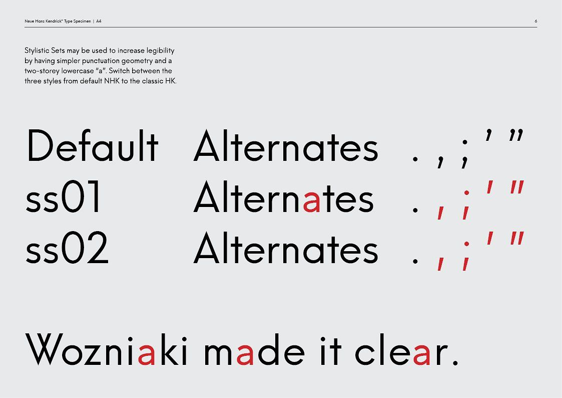 Neue Hans Kendrick With Images Typeface Business Flyer