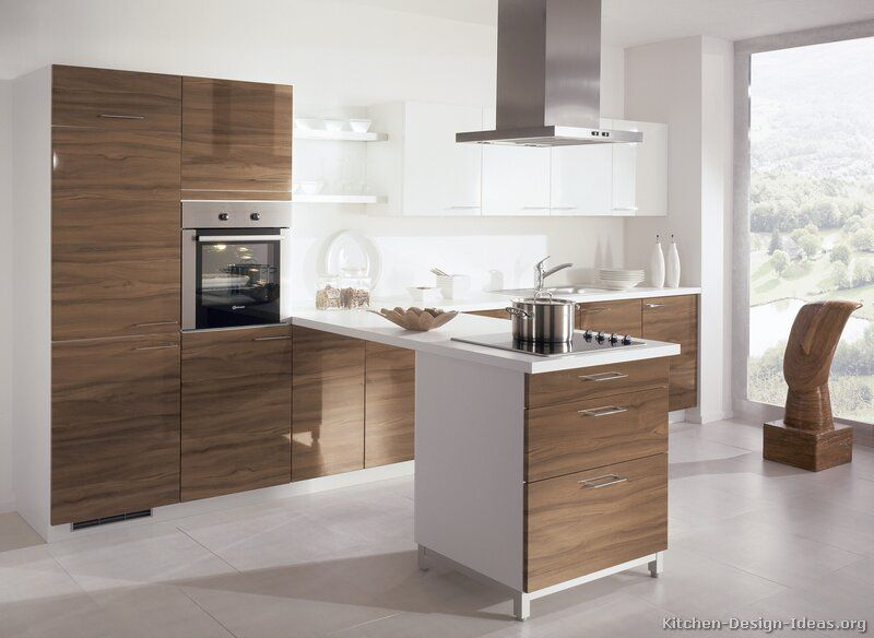 Kitchen of the Day Modern Two-Tone Kitchens (By ALNO, AG - alno küchen fronten