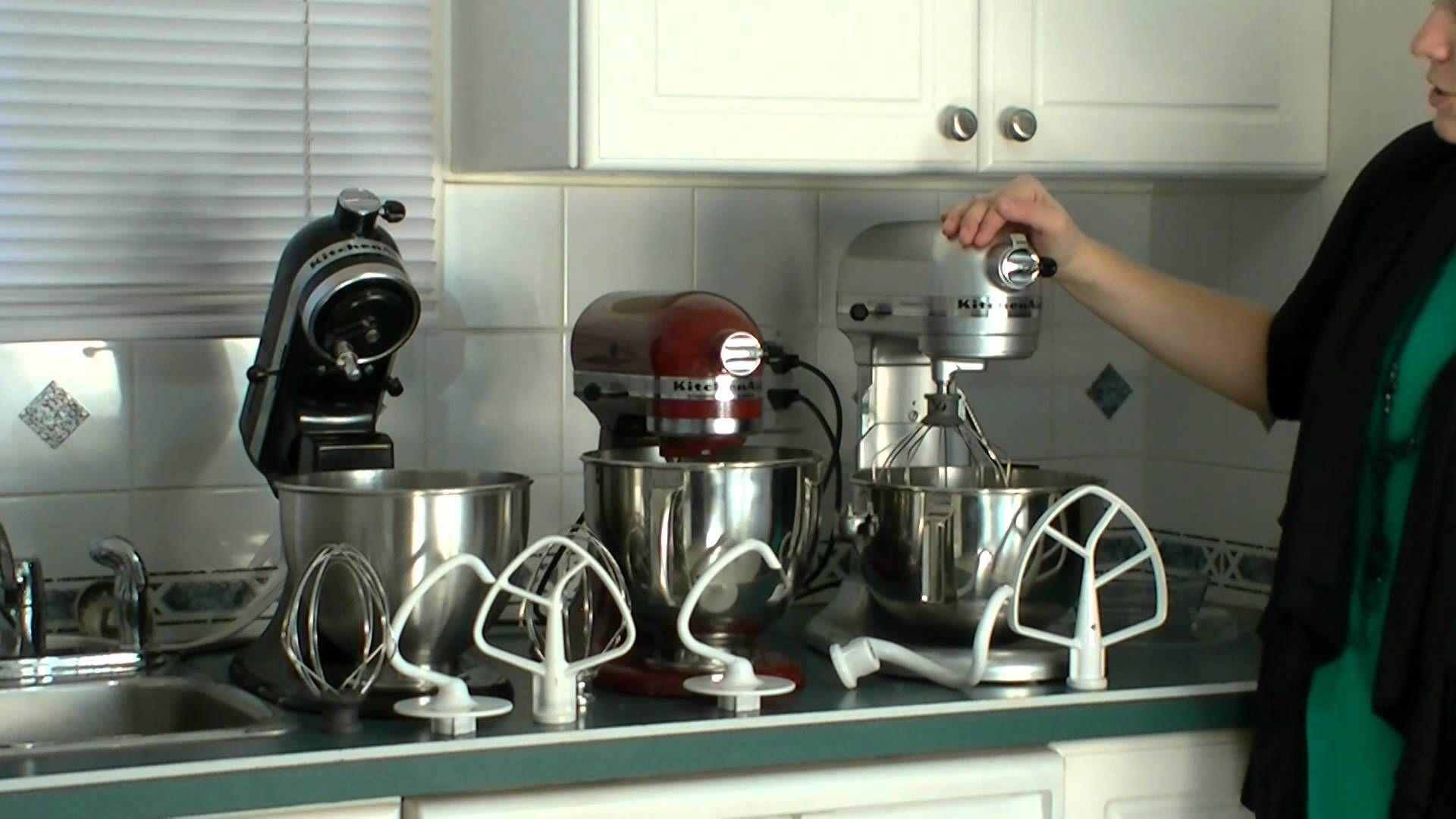 Kitchenaid Pro Vs Kitchenaid Artisan Vs Kitchenaid Classic