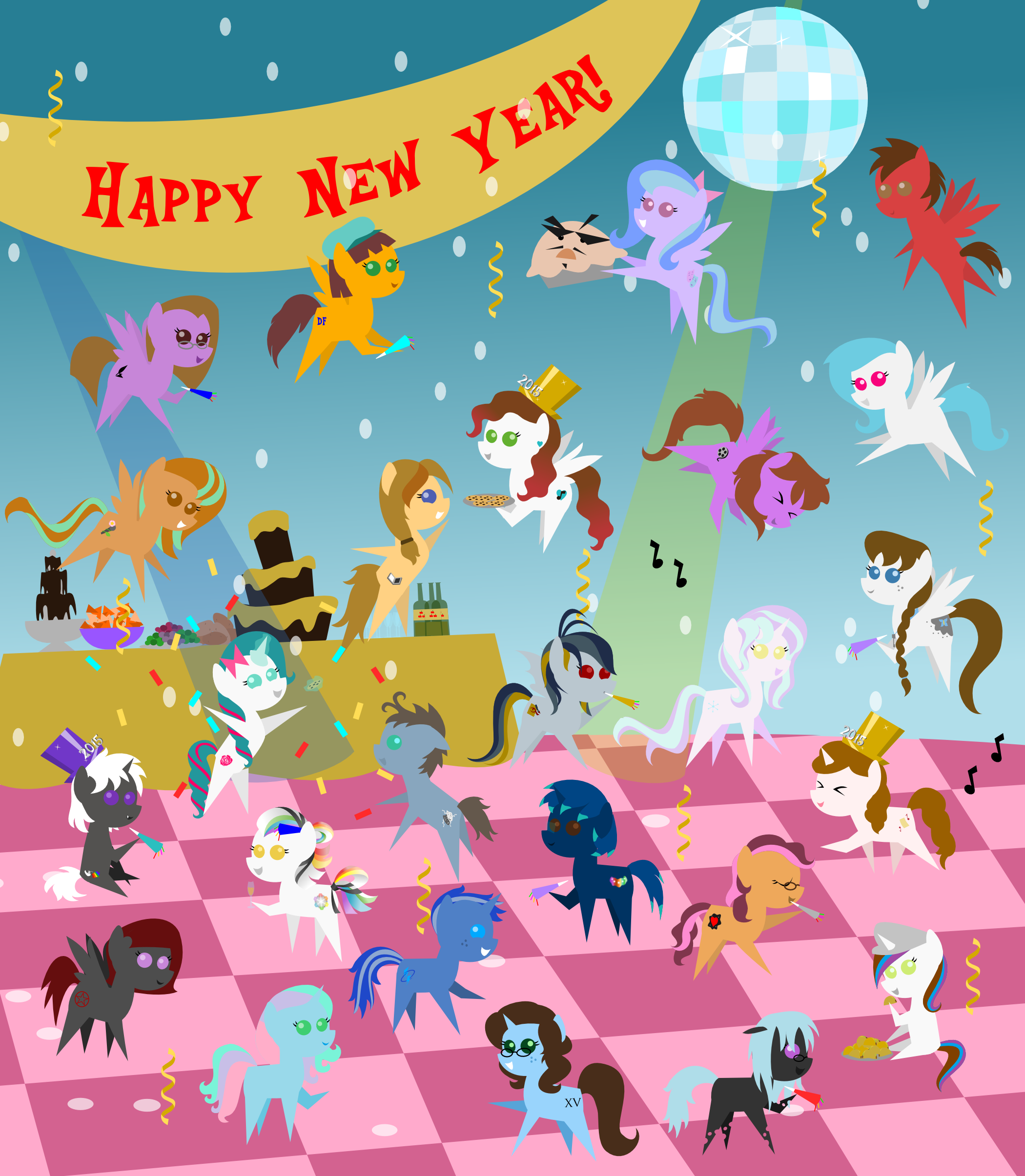 New Years Eve Countdown by My Little Pandas | Teachers