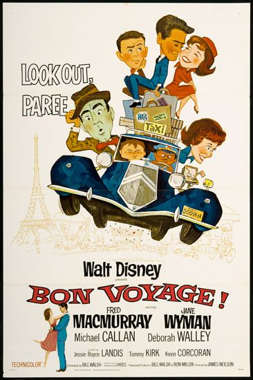 Bon voyage 1962 movie collection disney pinterest for Sejour complet disney