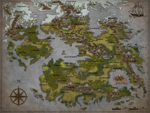 Blank Fantasy World Map Large Map With Blank Fantasy World | Fantasy in 2019 | Fantasy