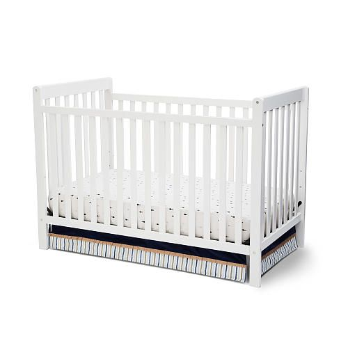 Delta Children Bennington 3 In 1 Crib White Ambiance