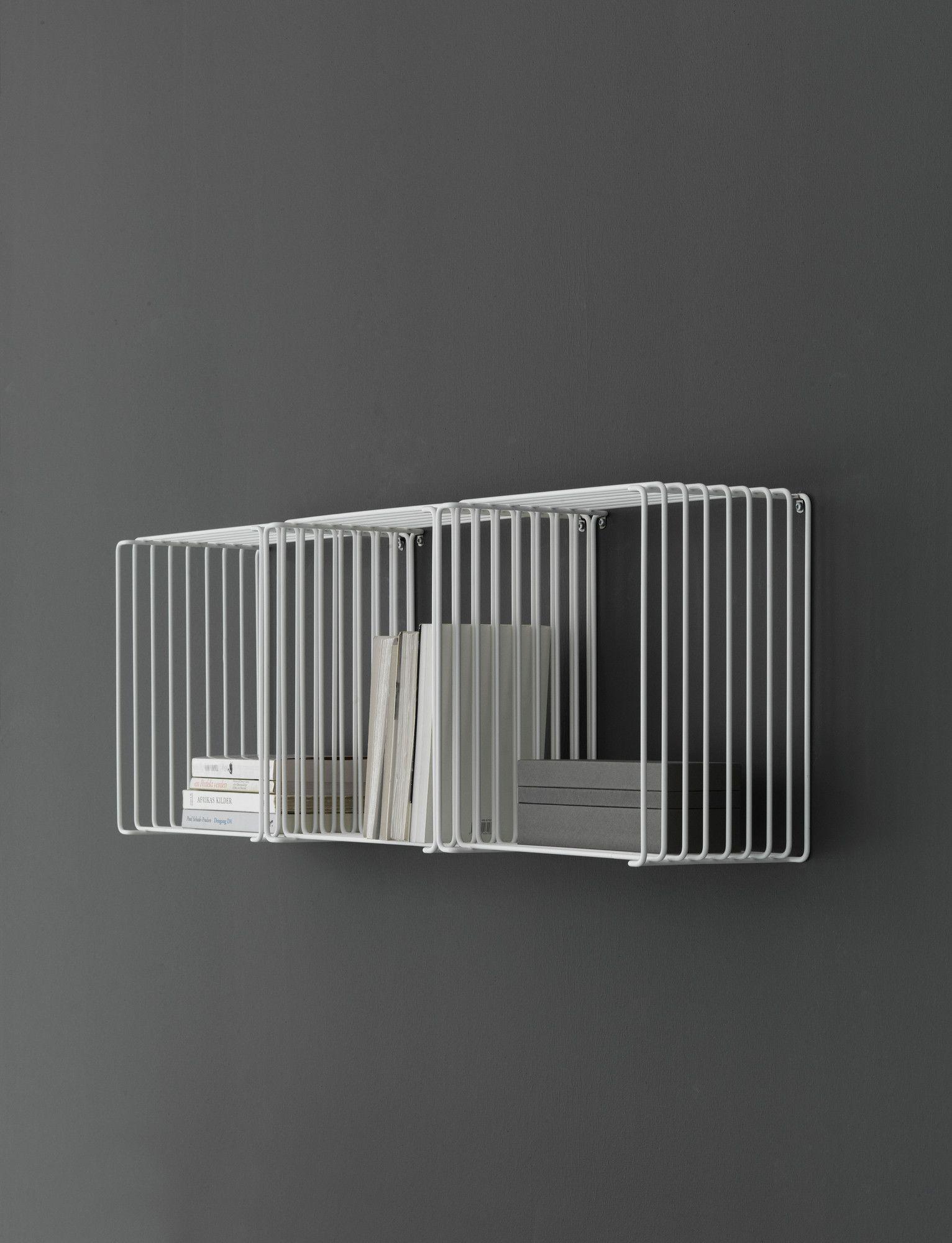 Panton Wire Cube Drahtregal 20 Cm Tief Montana Regal Einrichten Design Montana
