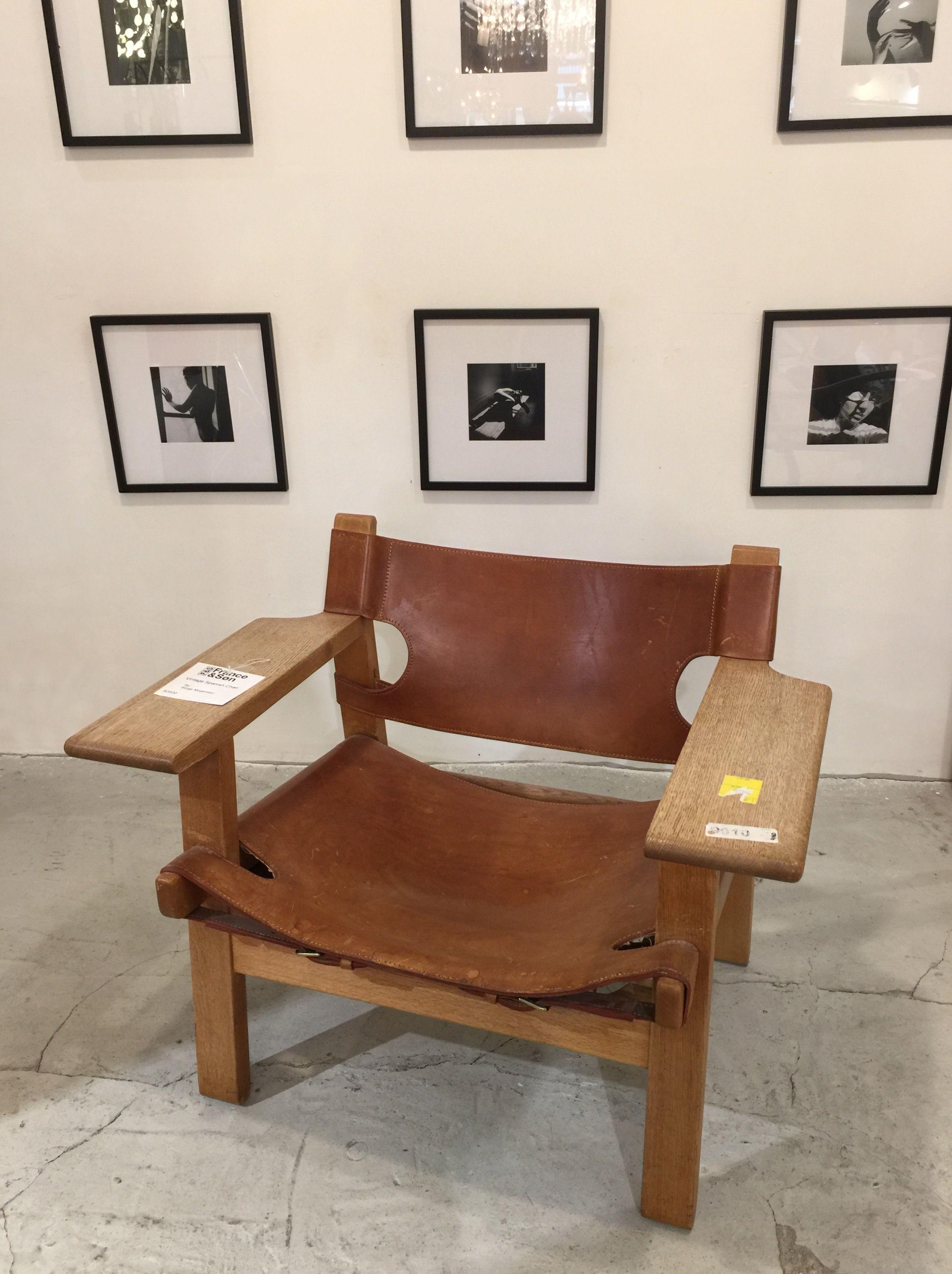 blog vintage spanish chair by borge mogensen templehill pinterest