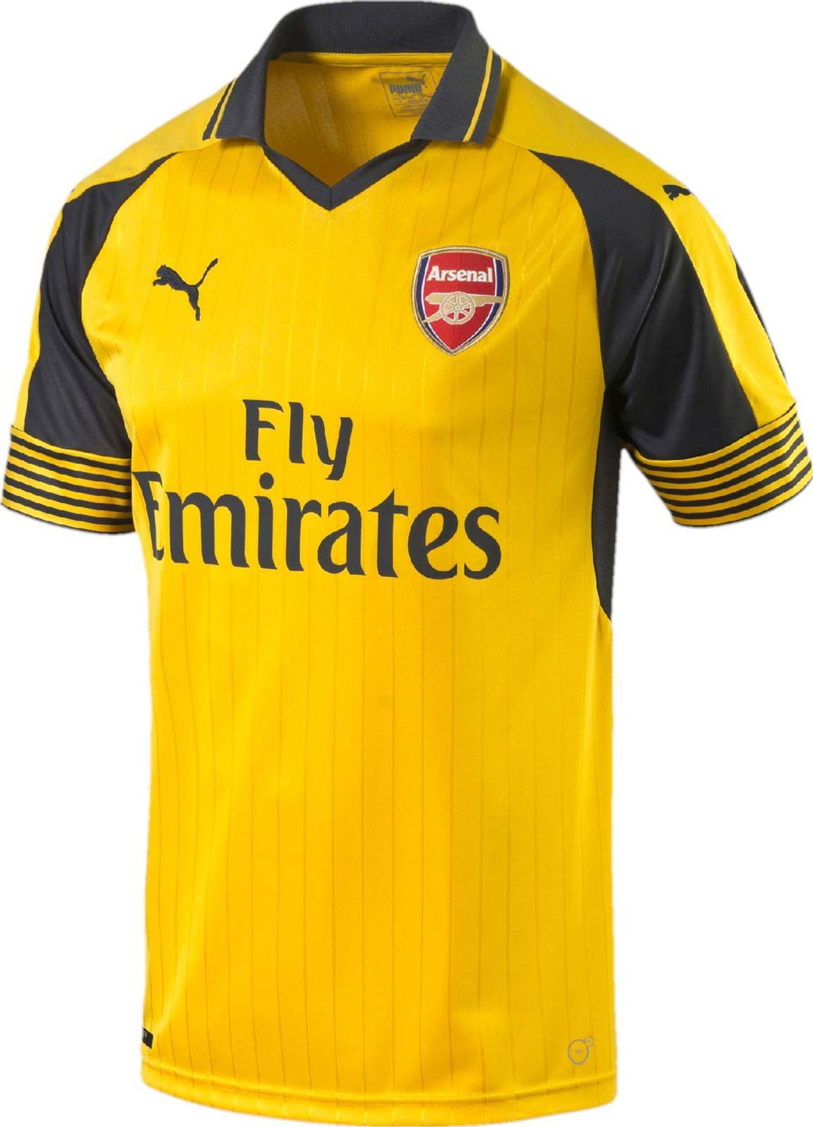 big sale 7032c bae56 The new Arsenal 2016-2017 Away Jersey introduces a vintage ...