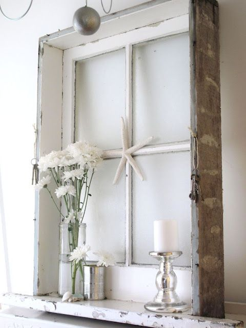 Creative window frame idea. | Home-spirations | Pinterest | Home ...