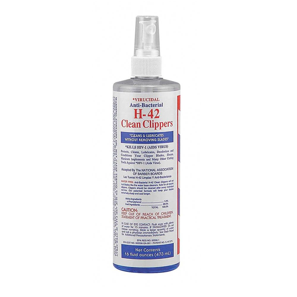H 42 Disinfectant Barber Cleaning Disinfectant Spray
