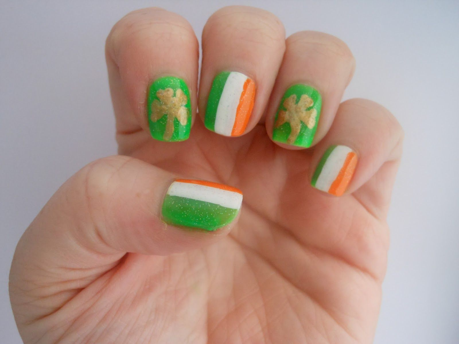 St. Patrick\'s Day 2013 Nail Art: Designs, Manicures for Irish ...