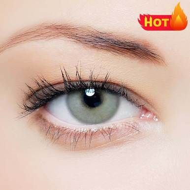Vcee Ice Grey Colored Contact Lenses