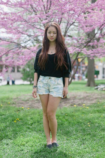 Jaehee Lee. Repéré à Toronto par Barbora Simkova.