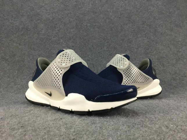 info for 08ffe 9b7e9 Original Unisex Nike Sock Dart Midnight Navy Silver White 819686 401 Nike  Sock Dart On Line