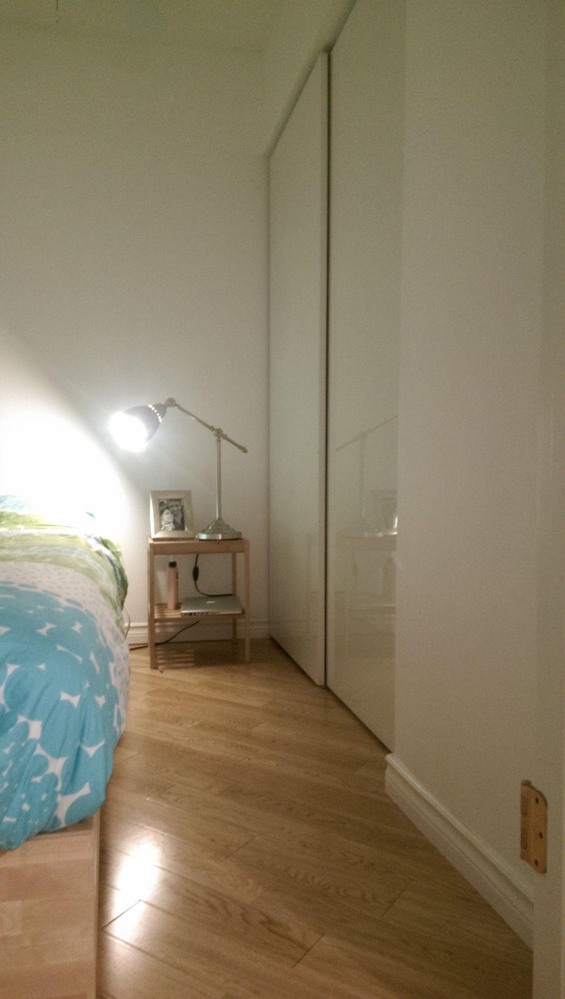 How To Use Ikea Pax Doors In Standard Closet Ikea Hackers Ikea Pax Doors Small Bedroom Remodel Remodel Bedroom