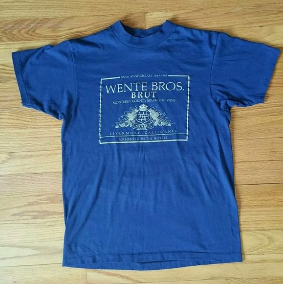 1983 California Tee Wente Brothers Wine Shirt Perfect vintage condition. PRICE IS FIRM. Vintage Tops