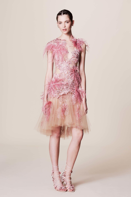 Marchesa Resort 2017 Fashion Show | Vestidos cortos, Moda mujer y ...