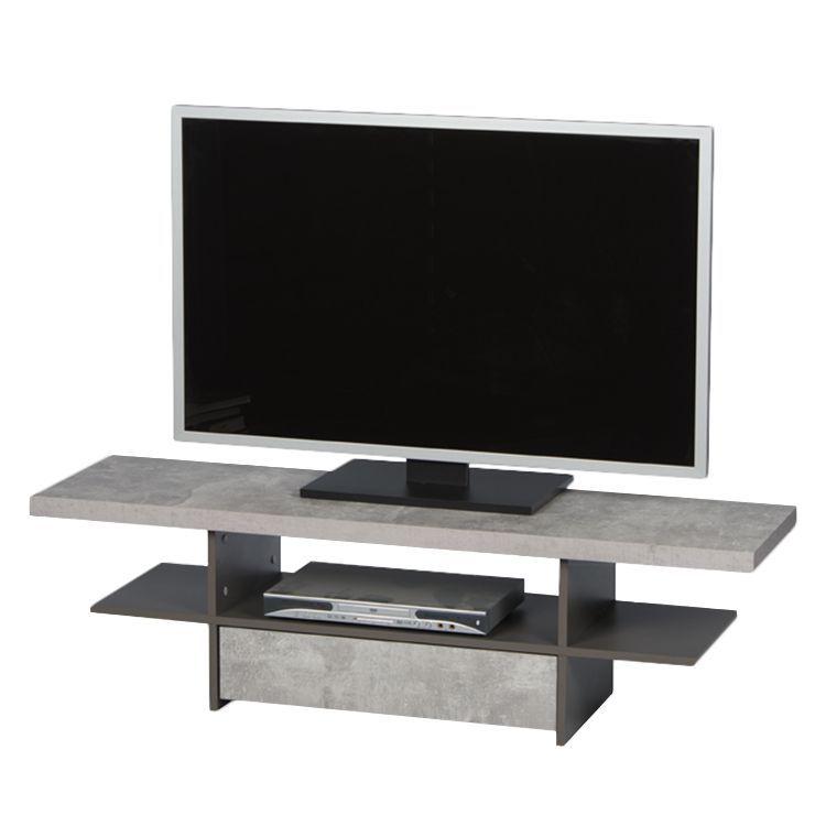 TV-Lowboard Hartney - Beton Dekor / Grau, mooved Jetzt bestellen