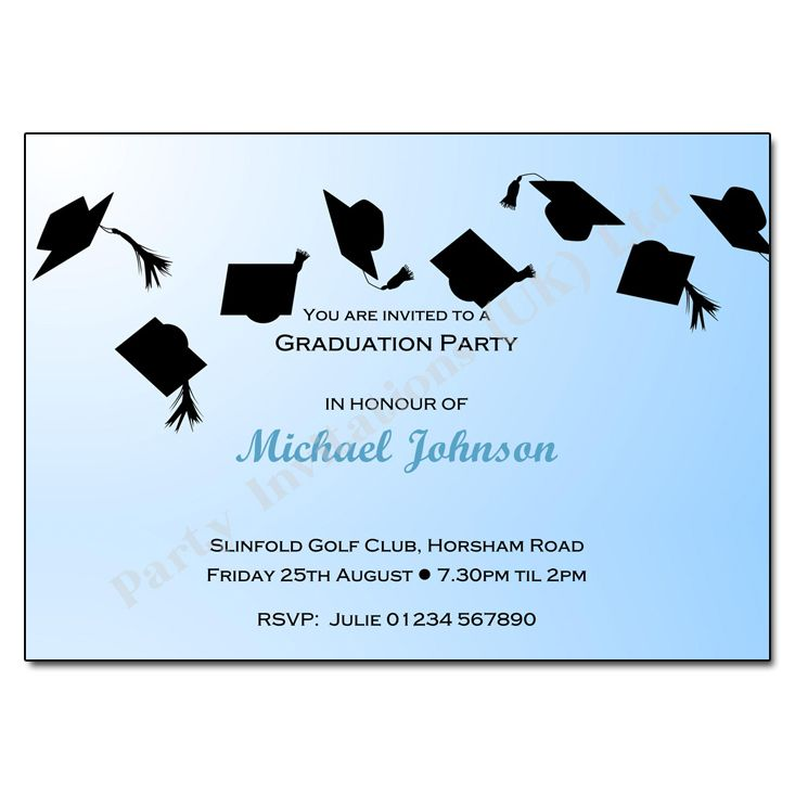 Graduation Reception Invitations  PlumegiantCom  Graduation