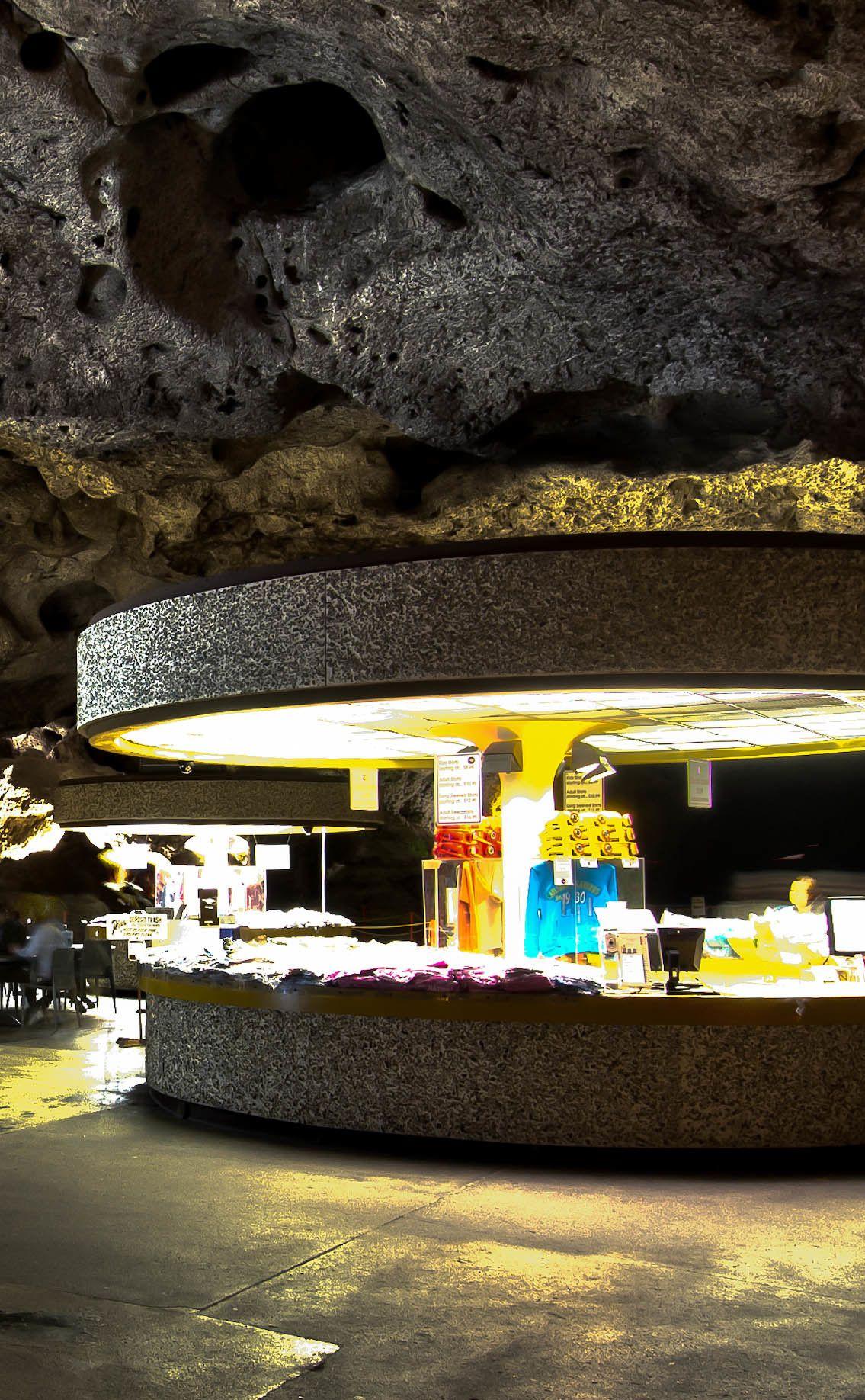 Underground Lunchroom Carlsbad Caverns New Mexico Carlsbad New Mexico Carlsbad Caverns