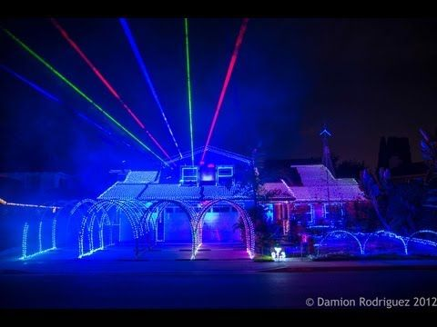 Gangnam Style Christmas - Fountain Valley Christmas Lights 2012 by ...