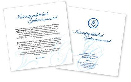 Invitaciones empresariales