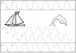Quelques fiches de graphisme à imprimer pour la maternelle ...