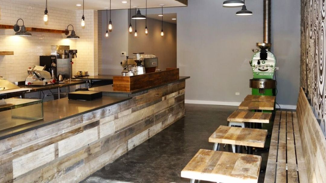 👍👍 #reclaimed #wood #interior #modern #rustic #reclaimedwood @chicagofabs