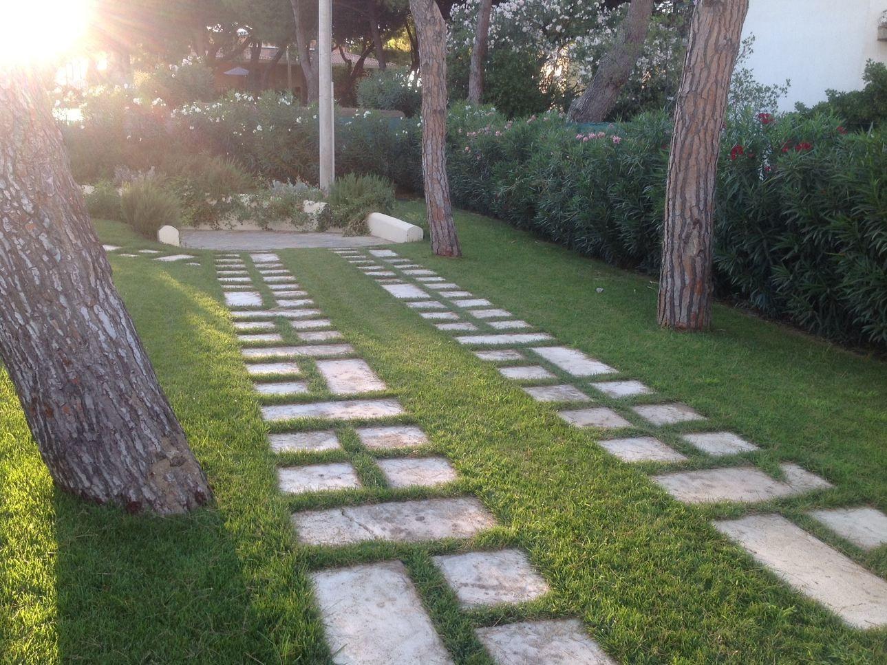 Vialetti In Pietra Prezzi camminamento in pietra naturale 4 by garden house lazzerini