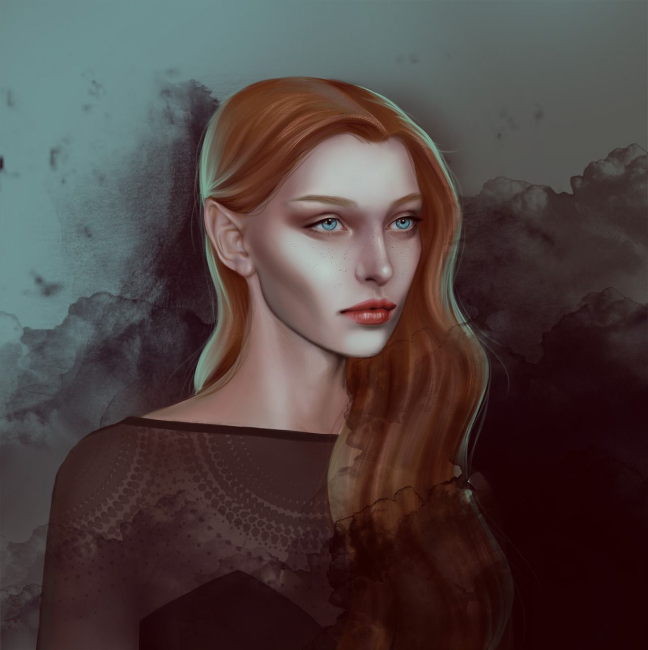 Feyre Archeron From A Court Of Thorns And Roses By Me A Court Of