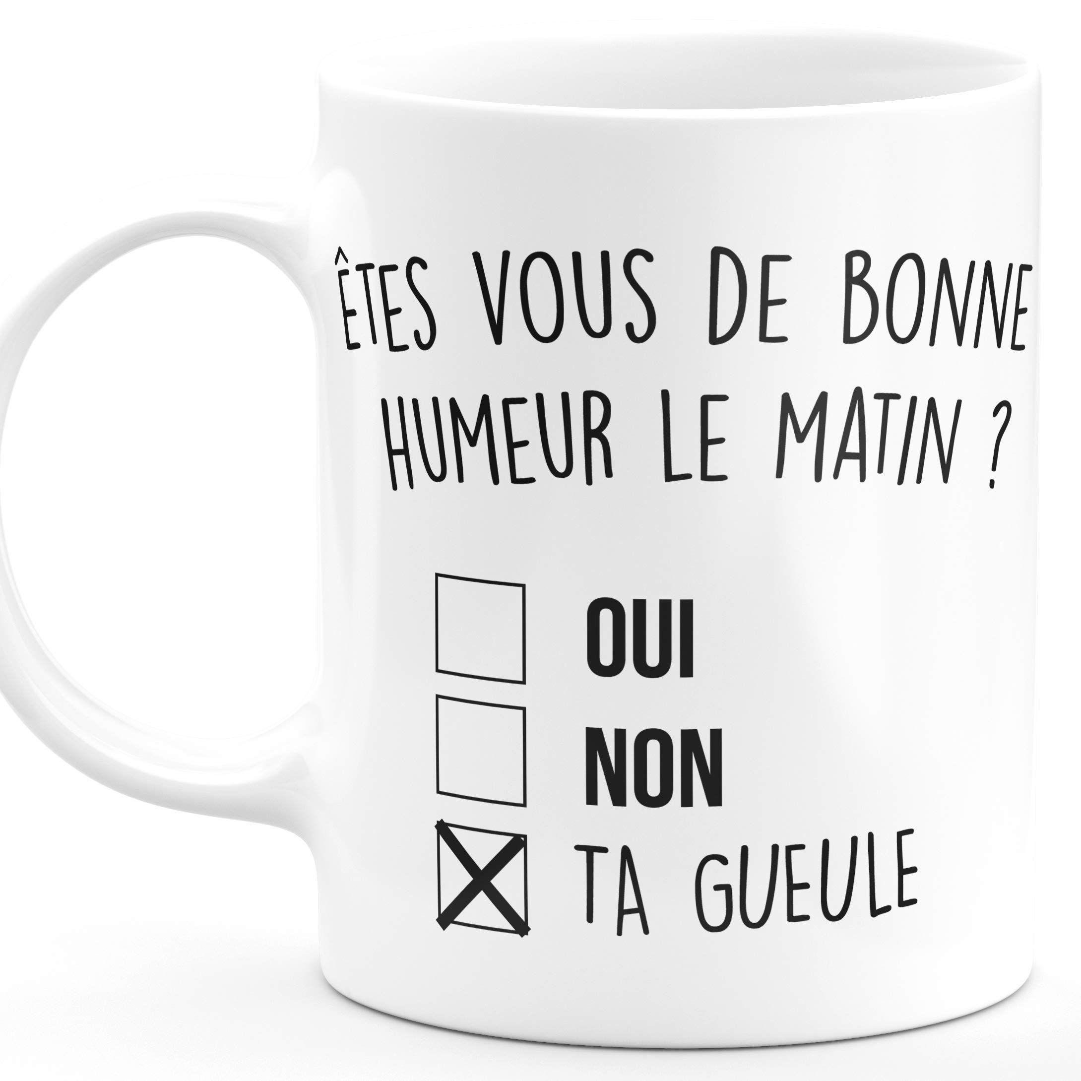 AMI Mug I Will There Pour You Ceramic Mug meilleur ami Thé Tasse