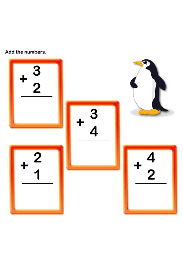 Math Worksheets, Kindergarten Worksheets, Addition Worksheets ...