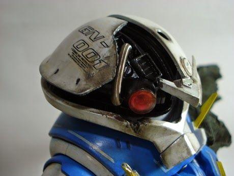 HGUC 1/144 Acguy Exia Repair ver. - Custom Build by rodem