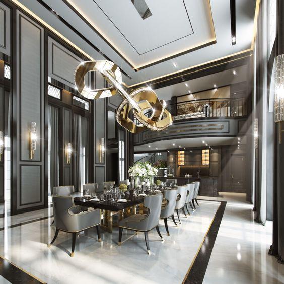 Glamorous Dining Rooms: Pin By أستاذ الزخرفة للديكور الداخلي On Home
