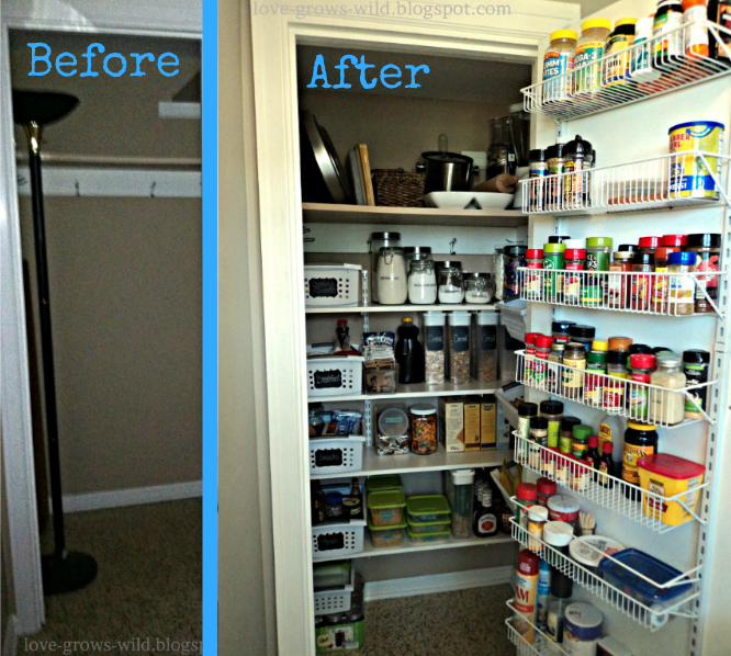 Lovely Turn A Closet Into A Pantry   Google Search