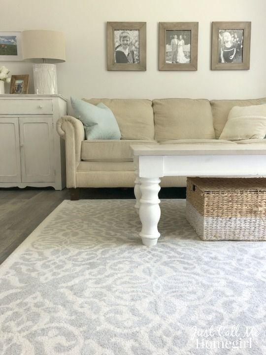 Raised Ranch Living Room Design: 3 Frames As A Focal Point In Our Raised Ranch Living Room