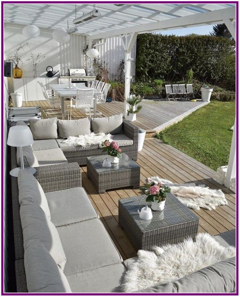 27 Outdoor Living Room Makeover For Small Spaces With