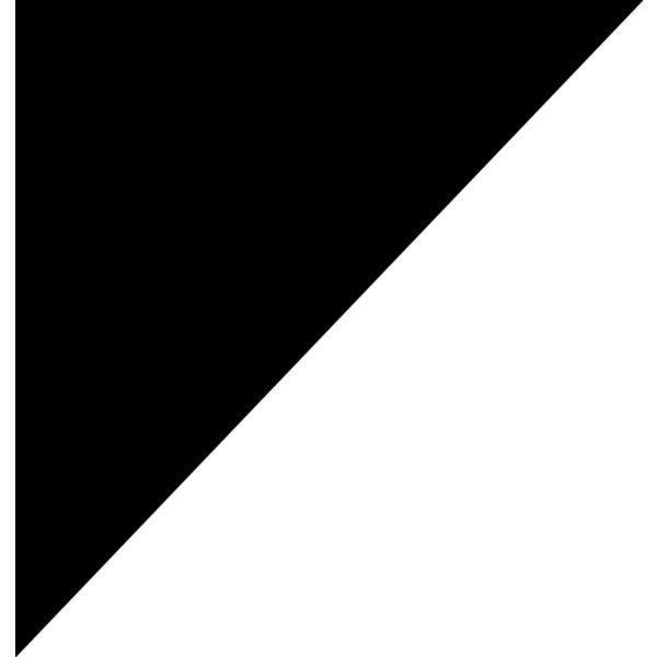 Triangle Corner Black Png Black White Art White Art Black And White