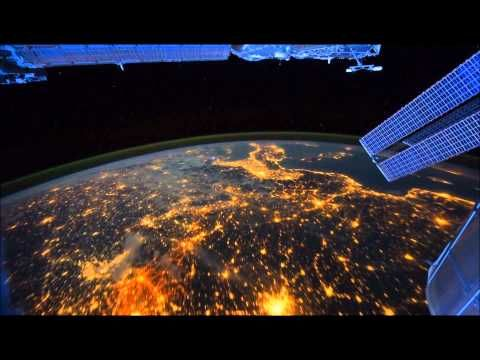 video: NASA International Space Station  music: The Chemical Brothers - Surface to Air (Clip)  voice: Carl Sagan